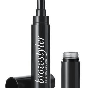 All-in one browstyler with quick and natural results. Remove the bottom cup, dip the brush into the gel and define and style your brows. A quick and handy styler for your eyebrows.