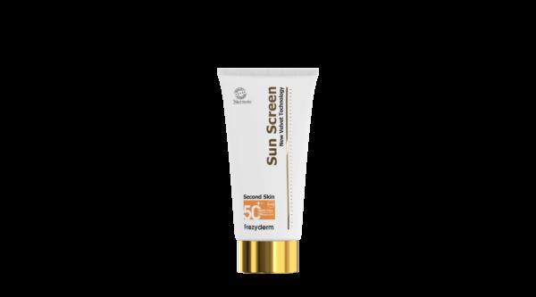 Ultralätt kladdfri solkräm för kroppen med mycket högt solskydd SPF50+ 125ml
