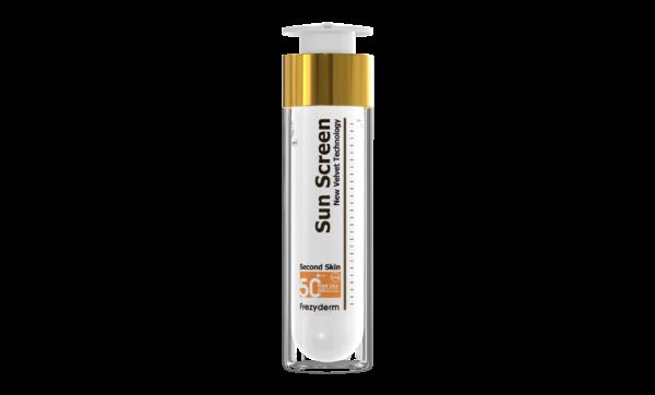 Ultralätt, sammetslen solkräm med mycket högt solskydd, SPF50+